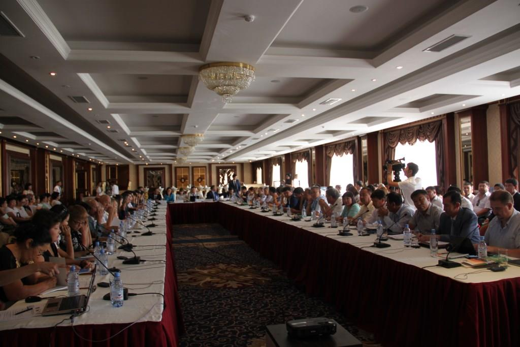 """The Conference on Green Technologies Introduction "", Aktau, August 7-9, 2014"