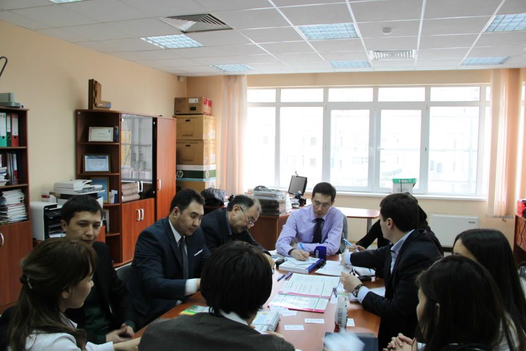 "The working session of experts on the Kazakhstani  standard  of  ""Green"" Buildings preparation, April 4, 2014"